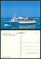 BARCOS SHIP BATEAU PAQUEBOT STEAMER [ BARCOS # 03431 ] - MS REGULA 1971 HELSINGBORG HELSINGOR - Passagiersschepen