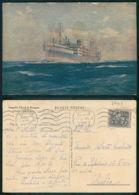 BARCOS SHIP BATEAU PAQUEBOT STEAMER [ BARCOS # 03449 ] - PORTUGAL - COMPANHIA COLONIAL NAVEGAÇÃO - IMPERIO  4 8 954 - Steamers