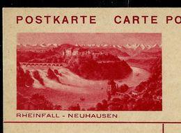 Carte Illustré Neuve  N° 130 - 047 A -- RHEINFALL - NEUHAUSEN - Entiers Postaux
