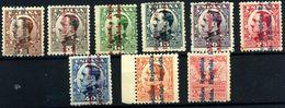 España Nº 593/8, 600/1, 603. Año 1931 - 1889-1931 Royaume: Alphonse XIII