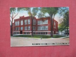 High & Graded School  Randolph  Vermont >     Ref 4171 - Etats-Unis