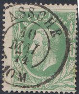 """émission 1869 - N°30 Obl Double Cercle """"Assche""""  / Collection Spécialisée. - 1869-1883 Leopold II."""