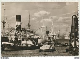 AK  Hamburg Schiffe Im Hafen 1957 - Non Classificati