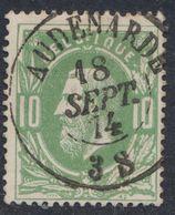 """émission 1869 - N°30 Obl Double Cercle """"Audenarde"""" (1874) . Superbe / Collection Spécialisée. - 1869-1883 Leopold II."""
