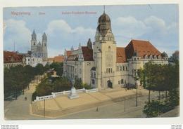 AK  Magdeburg Dom Kaiser Friedrich Museum 1917 - Magdeburg