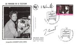 FRANCE. FDC. N°207203. 18/10/2013. Cachet Paris. Les Pionniers De La Télévision. Jacqueline Joubert. Signé - FDC