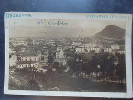 Bulgarie - Philippopel - Panorama Bulgarien - Photo Carte - Circulé: 1921 - 2 Scans. - Bulgarien