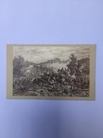 Carte De Visite CDV ROME La Bataille De Mentana 1867 Photographie De FRATODDI - Ancianas (antes De 1900)