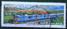 Train Trein Zug Locomotice Railway 1997 1998 Mi - Y&T - Used Gebruikt Oblitere SUD SOUTH AFRICA RSA - África Del Sur (1961-...)