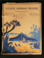 ( Meunerie Minoterie Boulangerie ) Catalogue SOCIETE GENERALE MEULIERE LA FERTE-SOUS-JOUARRE 1924 ( Seine-et-Marne ) - Alimentare