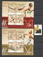Guyana - Limited Edition Set 10 MNH - SUMMER OLYMPICS BERLIN 1936 (*) - Estate 1936: Berlino
