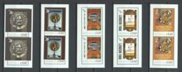 Guyana - Set 1 Of 5 Special Min.sheets SUMMER OLYMPICS 1896-1912 (*) - Summer 1896: Athens