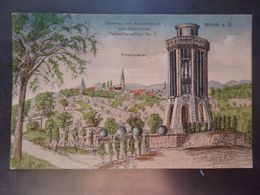 FRÖSCHWEILER - FROESCHWILLER - Wörth A. S. - Denkmal Und Aussichtsturm Des Hessischen Feldartillerie-Regt N° 11-2 Scans. - Sonstige Gemeinden