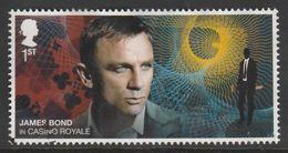 GB 2020 James Bond - Movies 1st Multicoloured S.World 4188 O Used - 1952-.... (Elisabeth II.)