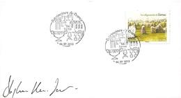 FRANCE. FDC. N°207243. 06/09/2013. Cachet Carnac. Les Alignements. Patrimoines De France. Signé - FDC
