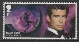 GB 2020 James Bond - Movies 1st Multicoloured S.World 4189 O Used - 1952-.... (Elisabeth II.)