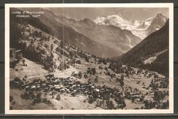 Carte P ( Vallée D'Anniviers ) - VS Wallis