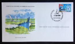 Cocos (Keeling) Islands, Uncirculated FDC, « Postal Service », « Flags », « Ships », 1979 - Cocos (Keeling) Islands