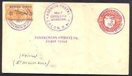 Panama, 1929 Cover For First Flight Panamerican Airways   -K34 - Panama