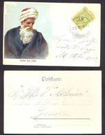 Turkey, 1912 Illustrated Postcard To Italy Cancelled In Jerusalem  -K40 - Briefe U. Dokumente