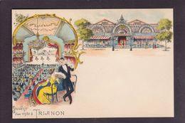 CPA CINOS Art Nouveau Non Circulé Série Cinos Voir Scan Du Dos Trianon - Reclame