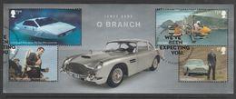 GB 2020 James Bond - Q Branch Minisheet Multicoloured S.W 4193 O Used - Blocks & Kleinbögen