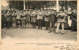 Quimperlé * Le Concours De Biniou Des Fêtes De L'union Régionaliste Bretonne * L'arrivée Des Exécutants * Folklore - Quimperlé