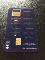 Hotelkarte Room Key Keycard Clef De Hotel Tarjeta Hotel  CLASSICAL HOTEL GRIECHENLAND - Phonecards