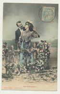 Les Amoureux - édition Bergeret - Cliché Waléry - Bergeret