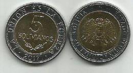 Bolivia 5 Bolivianos 2017. High Grade From Bank Bag - Bolivia