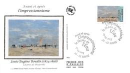 FRANCE. FDC. N°207297. 27/04/2013. Cachet Le Havre. L'impressionnisme. Louis Eugène Boudin. La Jetée De Deauville. - 2010-....