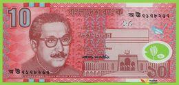 Voyo BANGLADESH 10 Taka 2000 P35 B330a স ঊ UNC Polymer - Bangladesh