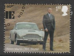 GB 2020 James Bond - Q Branch 1st Multicoloured S.W 4195 O Used - 1952-.... (Elisabeth II.)