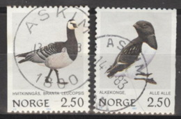 Norwegen 883/84 O - Norvegia