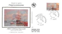 FRANCE. FDC. N°207299. 27/04/2013. Cachet Rouen. L'impressionnisme. Albert Lebourg. Dans Le Port De Rouen - 2010-....