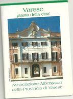 VARESE PIANTA  CITTA' - Cartes Topographiques
