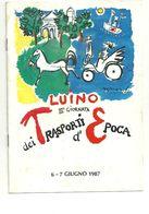LUINO   TRASPORT D'EPOCA  3  GIORNATA 1987 - Unclassified