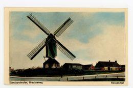 D331 - Roosendaal Bredaseweg Standaardmolen - Molen - Moulin - Mill - Mühle - Roosendaal