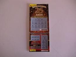 Loterie Lottery Loteria Lotaria Instant Instantânea Raspadinha Jogo Nº 420 - 25 Anos Portugal - Loterijbiljetten