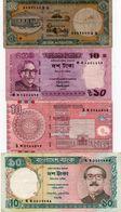 LOTTO BANCONOTE ASIA  BANGLADESH - CIRCOLATE - Monedas & Billetes