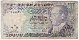 Turkey P 199 B - 10.000 Lira 1982 - Fine - Turchia