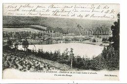 CPA-Carte Postale-Belgique- Court-Saint-Etienne-Château Du Comte Goblet D'Alviella Un Coin Des étangs -1907-VM17975 - Court-Saint-Etienne