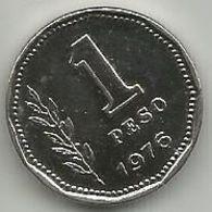 Argentina 1 Peso 1976. High Grade - Argentine