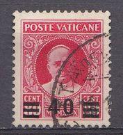 Vatikaan 1934  Mi.nr. 39 Aufdruck  OBLITÉRÉS-USED-GEBRUIKT - Oblitérés