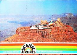 SCENIC AIRLINES INC -GRAND CANYON 1980s  -  Aviation (Avion Aircraft Jet Luchtvaart) - Etats-Unis