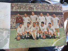 FOOTBALL 1 Document De JUIN 1957  Sur Le REAL DE MADRID , C'est Imprimé,pas D'autographe à La Main - Voetbal