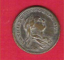 Jeton Token Catherine II De Russie Russia Dit Jeton De Nuremberg Ca.1796 TB/TTB - Monarquía / Nobleza