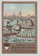 DR Privatganzsache PP 27: Ulmer Fischerstechen 1912 - Germany