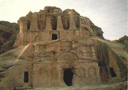 Jordan Israel Petra Obelisk Tomb Viewcard - Jordan