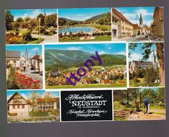 CPM  :  Neustadt   Im Schwarzwald Kneippkurort Höhenluftkurort Wintersportplatz Multi Vues - Neustadt (Dosse)